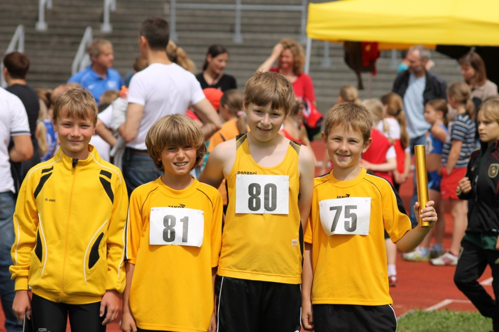 50m Staffel: Horstmann – Roos- Miedl – Ebensberger